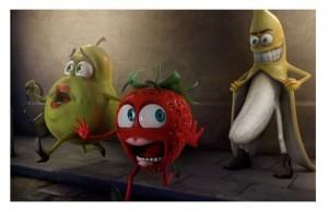 Bananen skrämmer skiten ur