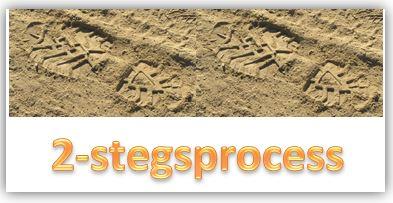 2-stegsprocess