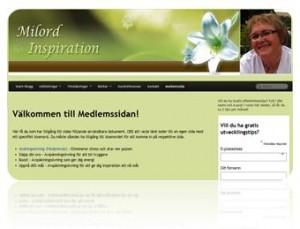 Medlemssidor på bloggen
