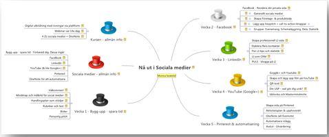 Sociala medier innehåll