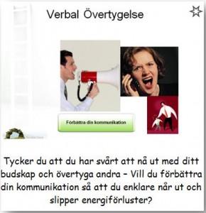 Verbal övertygelse