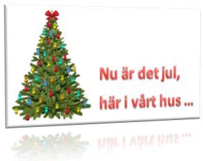 Nu är det jul