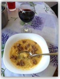 Purjo- och potatissoppa