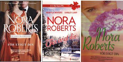 Nora Roberts För evigt din - flera