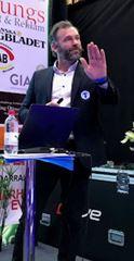 Hasse Mattisson, försäljn chef TFF