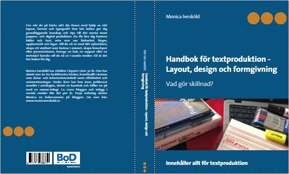 Handbok i textproduktion - omslag