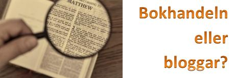 Bokhandel eller bloggar