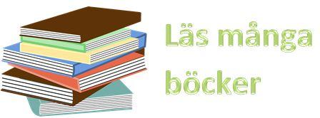 Läs många böcker
