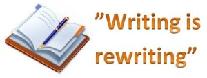 Writing is rewriting