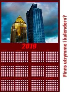 Finns utrymme i kalendern
