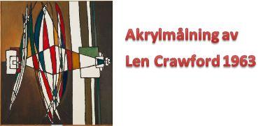 Len Crawfords målning Inre monolog