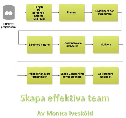 Skapa effektiva team