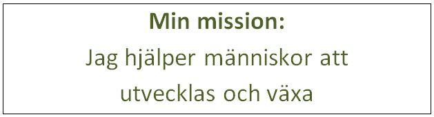 Min mission