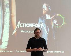 Anders Hallberg på Actionform om Storytactics