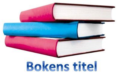Bokens titel