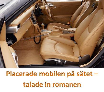 Mobilen på sätet
