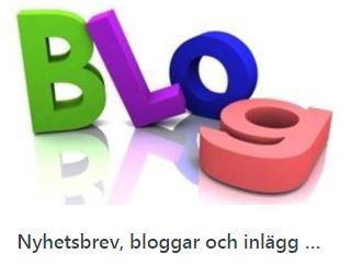 Nyhetsbrev, bloggar, inlägg