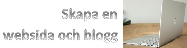 Websida o blogg