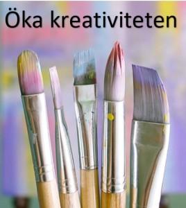 Öka kreativiteten