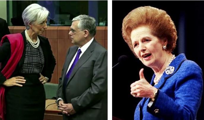 Margret Thatcher och kraft