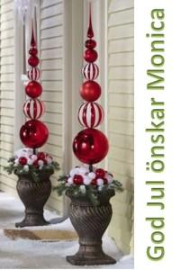 God jul önskar M