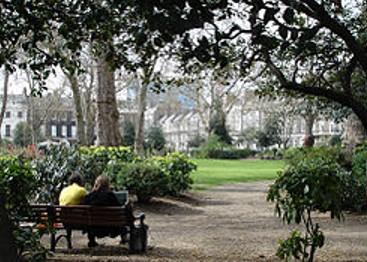 Bedford Garden i Bloomsbury London